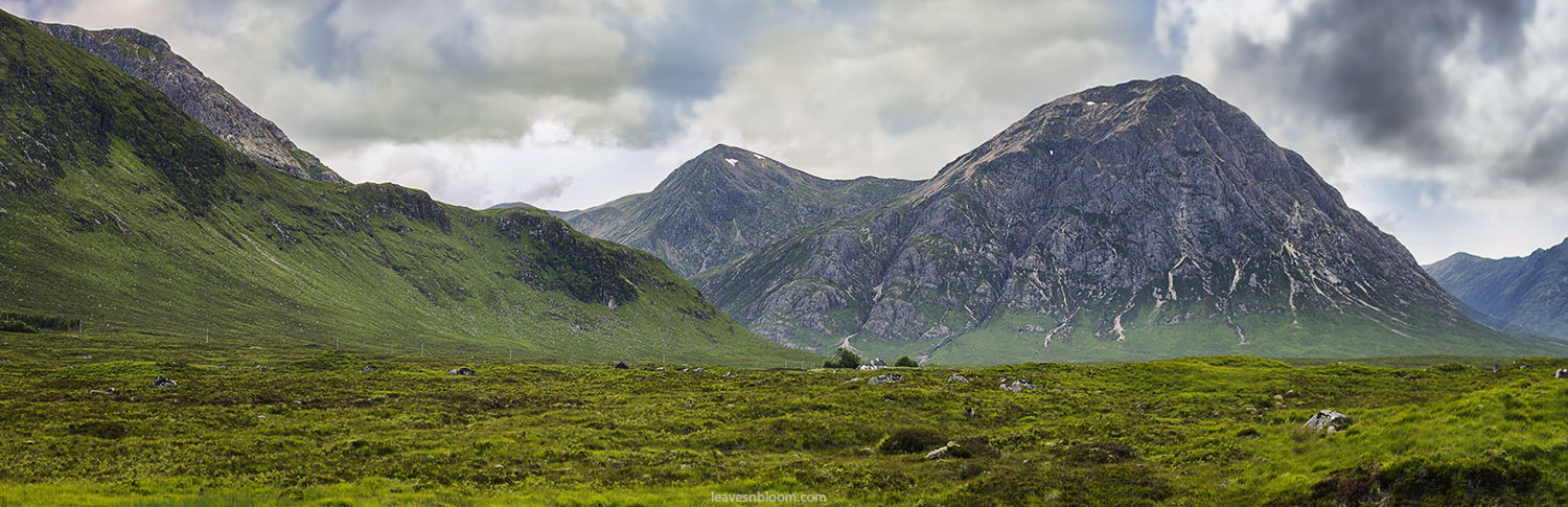 this is an image of Buachaille Etive Mòr