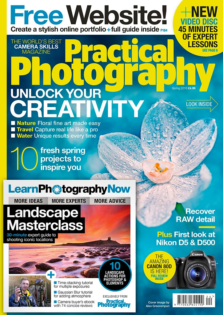 practical photography magazine interview with Rosie Nixon Spring 2016 edition
