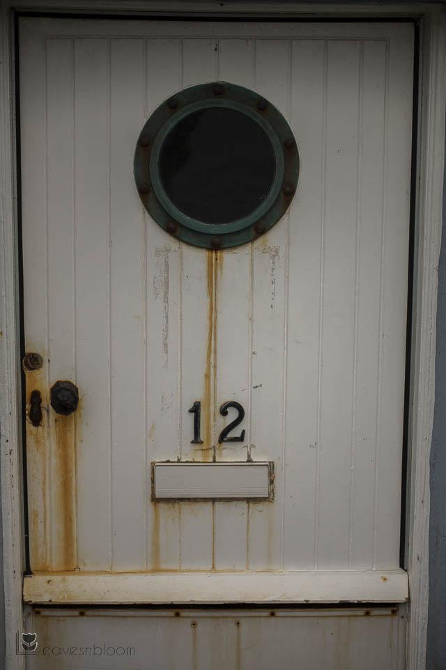 rusty front door