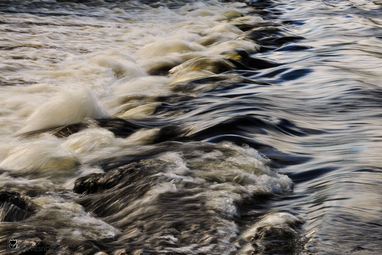 a slow shutter image of the River Tay in Perth on the Scott Kelby's Photowalk