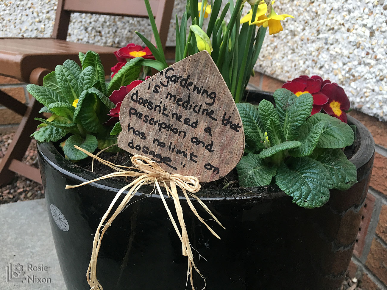 Planted container quote for Beechgrove garden