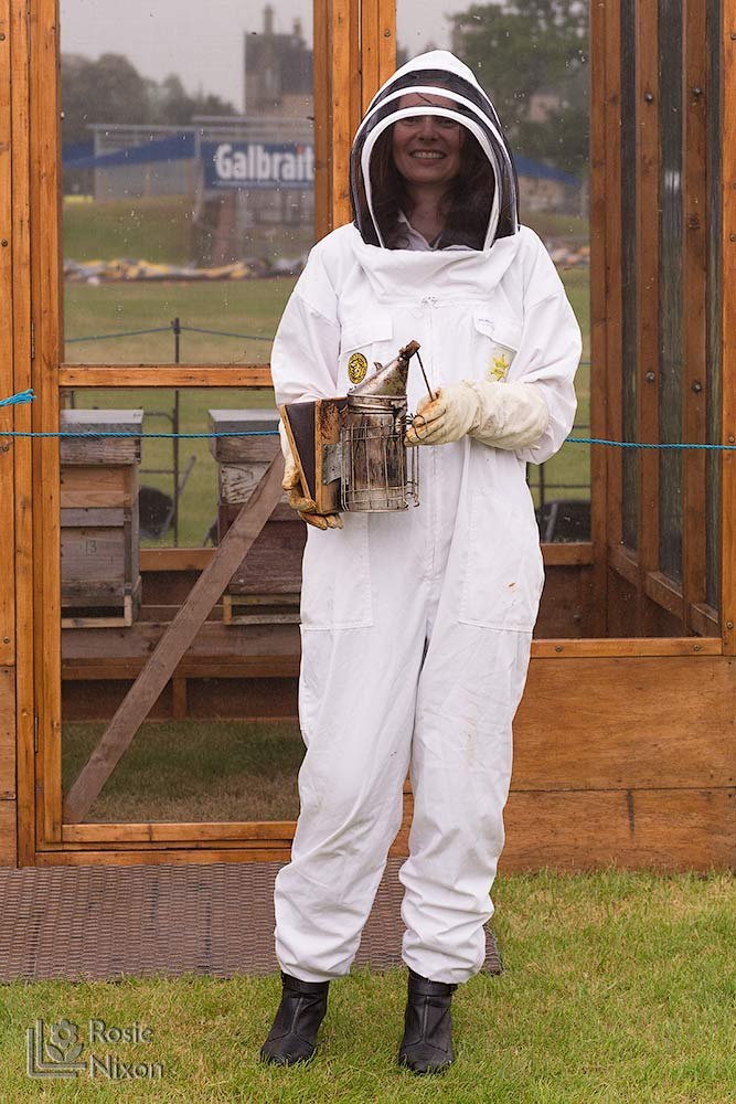 rosie nixon flower photographer bee happy gardening scotland with ayr beekeepers