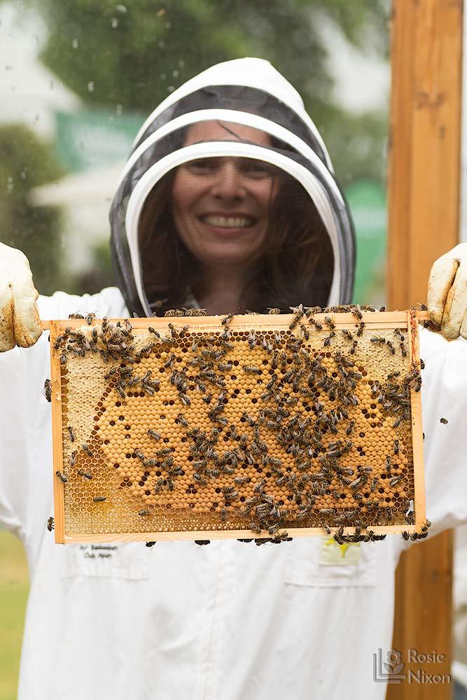 Rosie Nixon flower photographer - bee happy ayr beekeepers gardening scotland