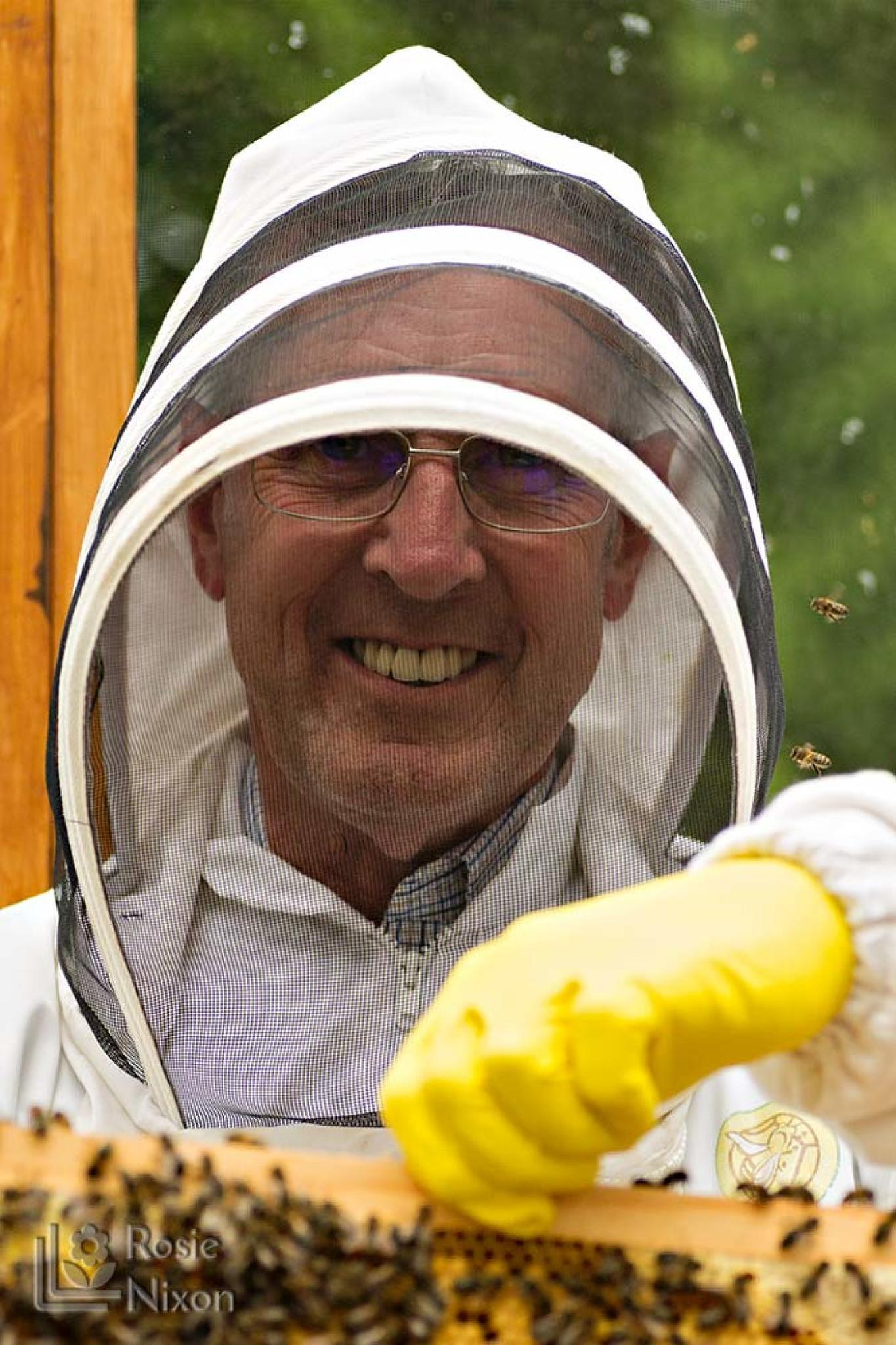 Phil from ayr beekeepers