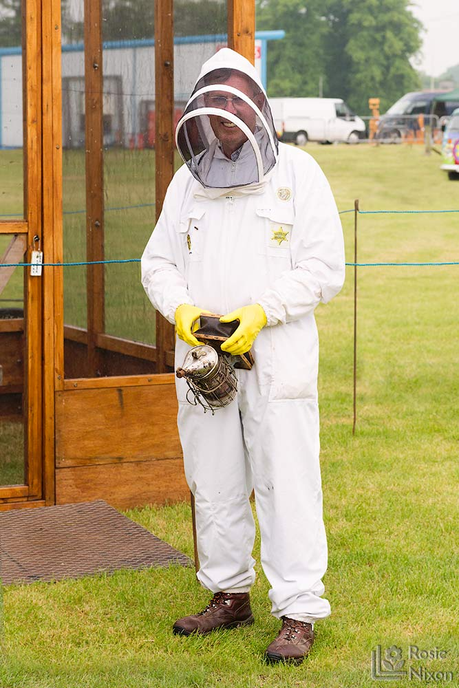 Phil bee happy ayr beekeepers gardening scotland